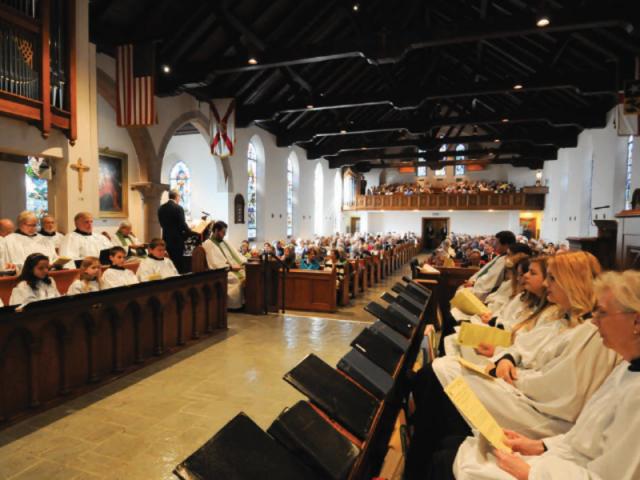 The Choir of Church of the Redeemer