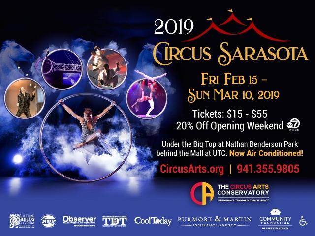 Circus Sarasota Winter Performances 2019