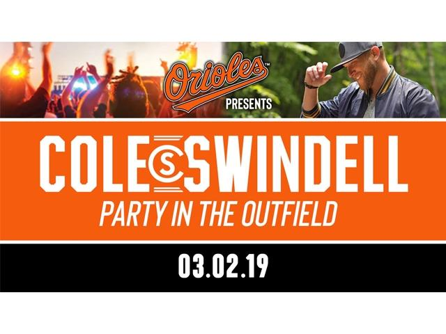 Cole Swindell Party in the Outfield