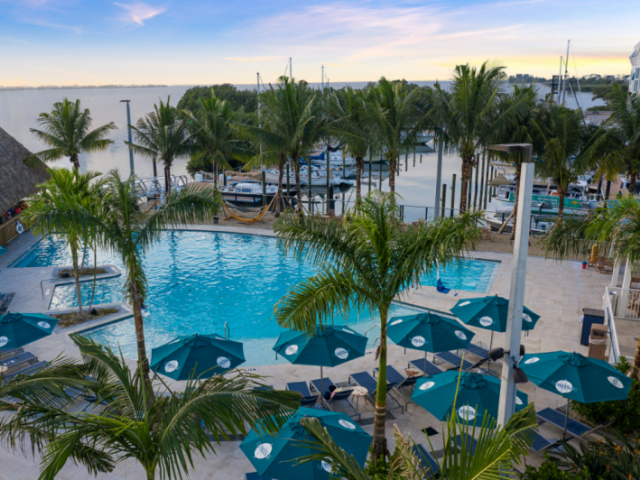 Marina Front Pool - Relax and catch some sun at our Marina Front Pool!