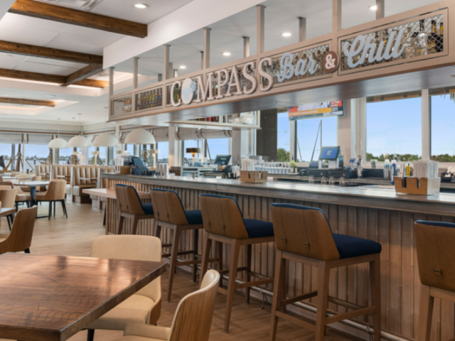 Compass Bar & Chill - Grab your favorite boat drink or a bite to eat at Compass Bar & Chill!