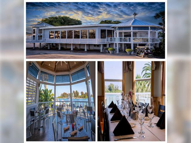 Crow's Nest Restaurant - Water views with Private Dining Room for special occasions.
