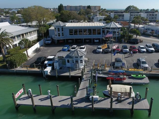 Overview of Crow's Nest Restaurant & Marina