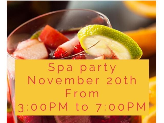 Day Spa Party