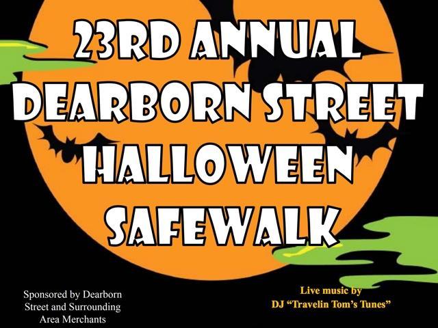 23rd Annual Dearborn Street Halloween Safewalk
