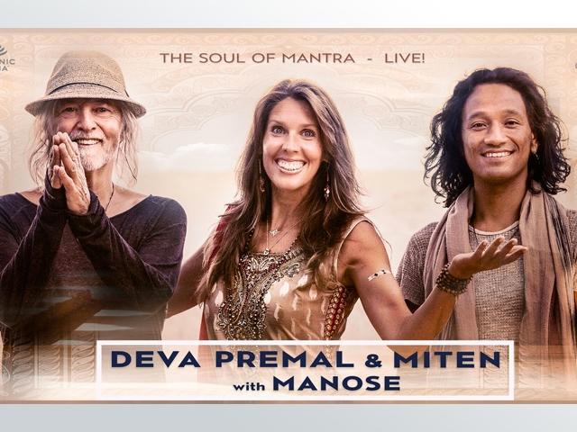 Deva Premal & Miten with Manose: The Soul of Mantra (Sarasota, FL)