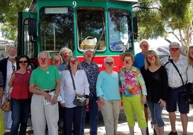 Circus Tour Goers on a Family Reunion! - Our tours are great for small groups!