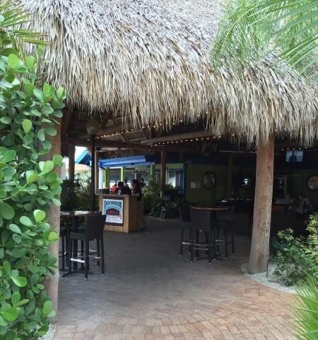 Live Entertainment on the weekends under our big Tiki Hut