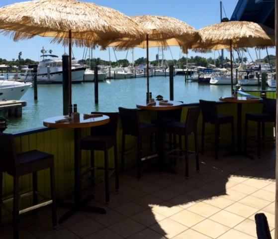 Casual Waterfront Dining on our Patio