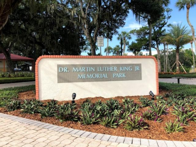 Dr. Martin Luther King Jr. Memorial Park - Dedicated to Dr. Martin Luther King Jr.