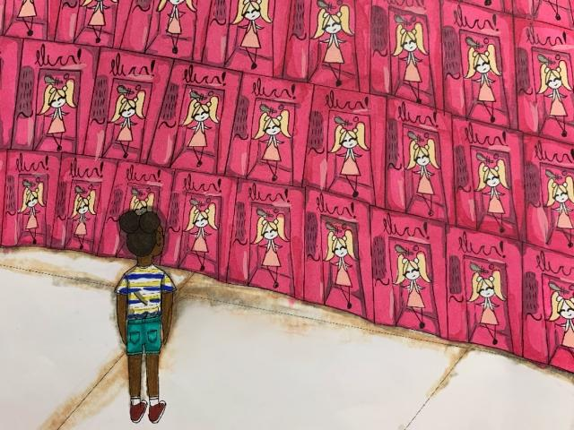 """EOD 2021: Best in Show, Student: """"Small Struggles"""" by Emily Norris, a 7th grade student at Sarasota Middle School."""