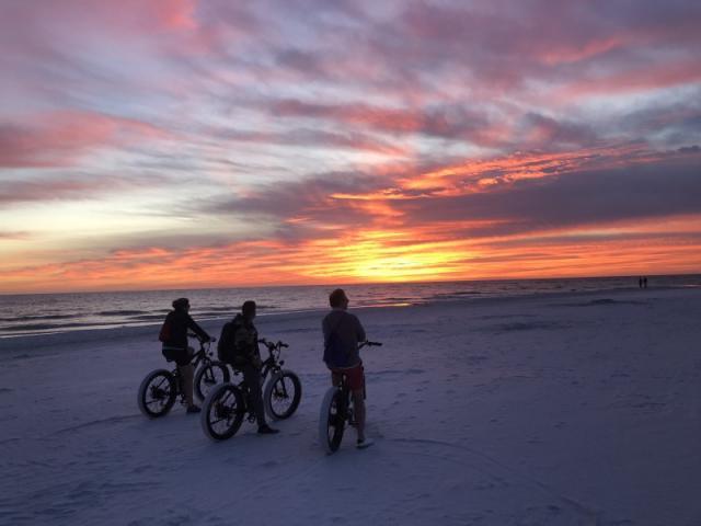Siesta Sunset - Another breath-taking sunset on Siesta