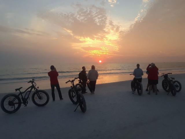Sunset - gathering for sunset