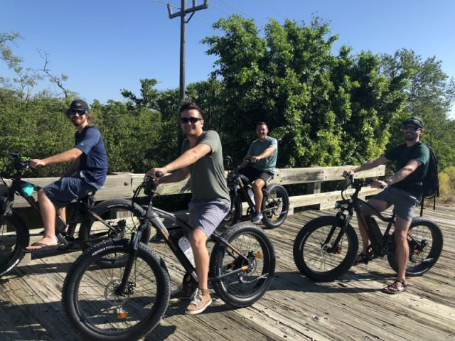 Robinson Preserve ride - Group ride at one of our great   parks.