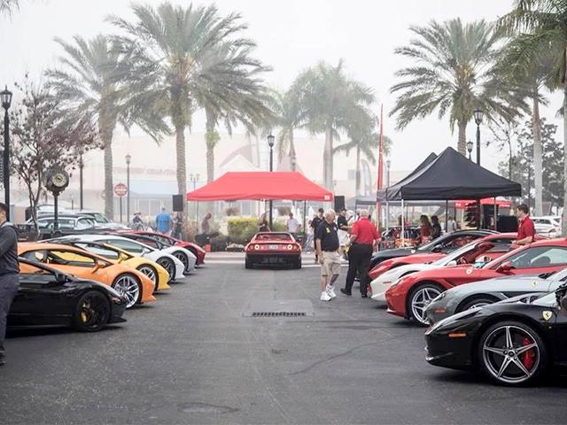 Exotic Car Festival St. Armands 2019