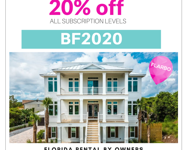 Black Friday Promotion - Florida Rental By Owners Black Friday 2020 Promotion