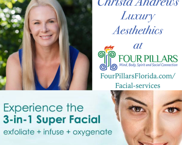Christa Andrews Luxury Aesthetics - See all facial services at www.fourpillarsflorida.com/facial-services