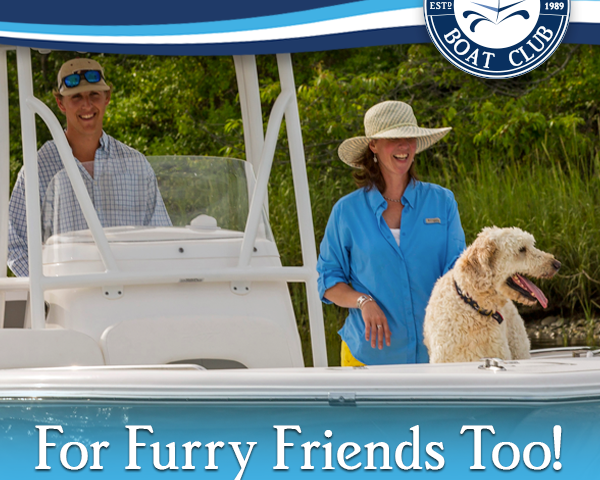 Bring your pets on-board at Freedom Boat Club! - Bring your pets on-board at Freedom Boat Club!