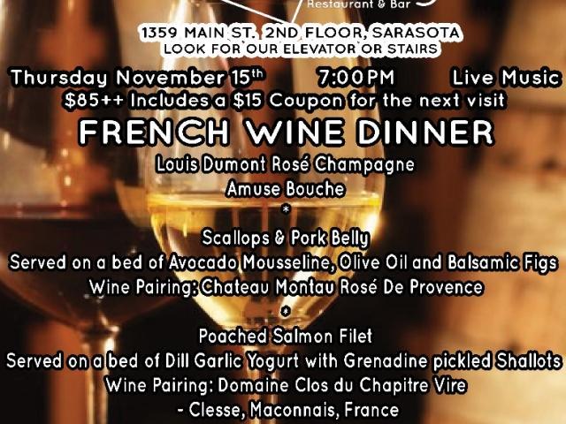 French Wine Dinner
