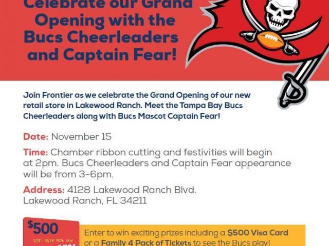 Frontier Buccaneers Grand Opening
