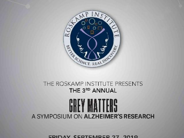 Grey Matters (GM3)- A Symposium On Alzheimer's Research