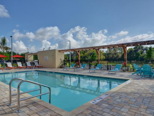 Outdoor Saline Pool - Enjoy a day in the sun or afternoon in the shade in our Heated Saline Pool