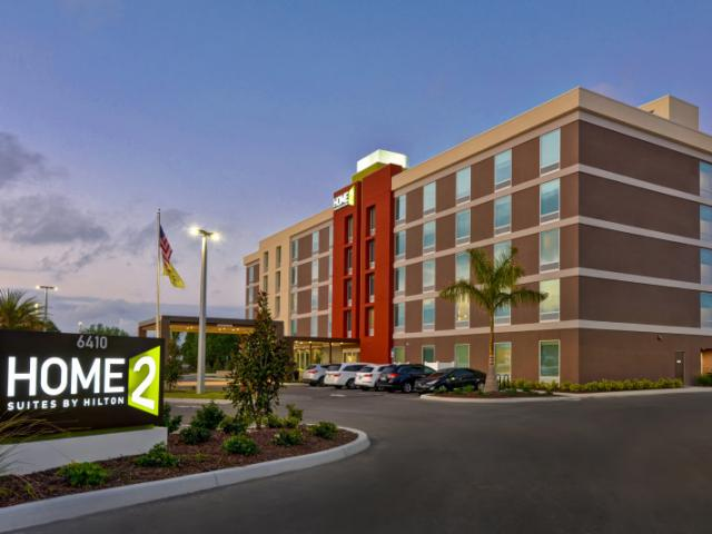 Home2 Suite Entrance Photo - Welcome to our entrance of the newest Home2 Suites with complimentary parking.