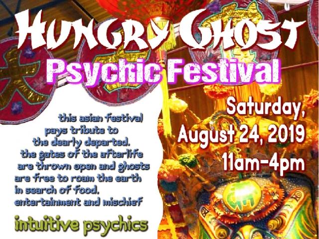 Hungry Ghost Festival and Psychic Fair