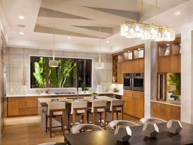 The Kylie Model Home Kitchen