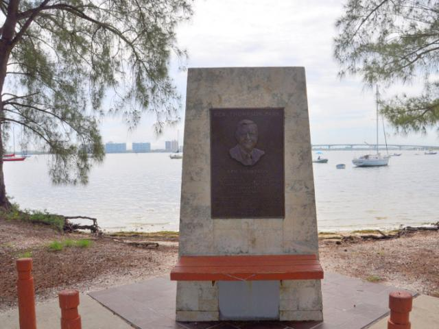 Ken Thompson Park - Ken Thompson - In recognition of this dedicated service to the City of Sarasota as City Manager from February 1, 1950 to February 1, 1988.