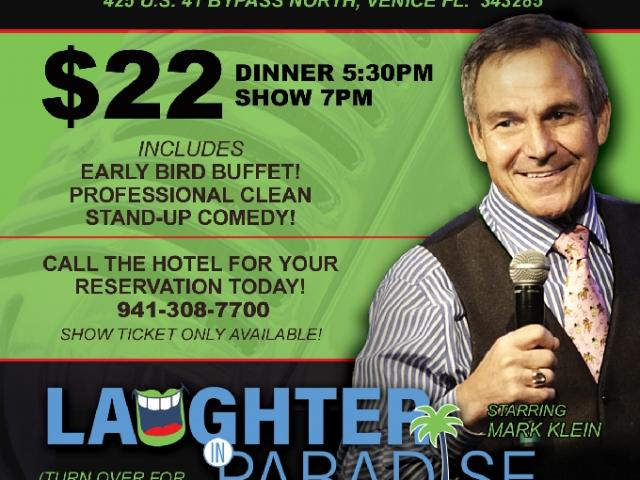 Laughter in Paradise Comedy Show