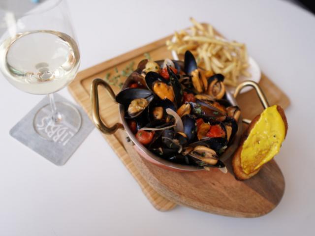 Drunken Mussels & Fries - Menu Items