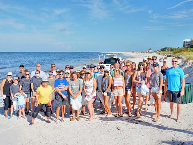 LIDO BEACH Clean-Up