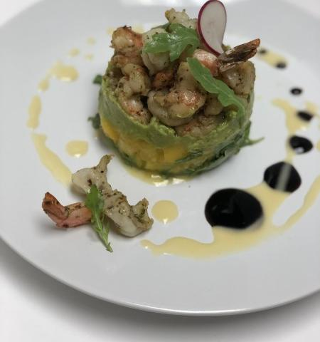 Shrimp, Avocado & Mango