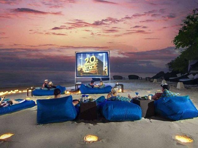 Movie Nights at the Beach!