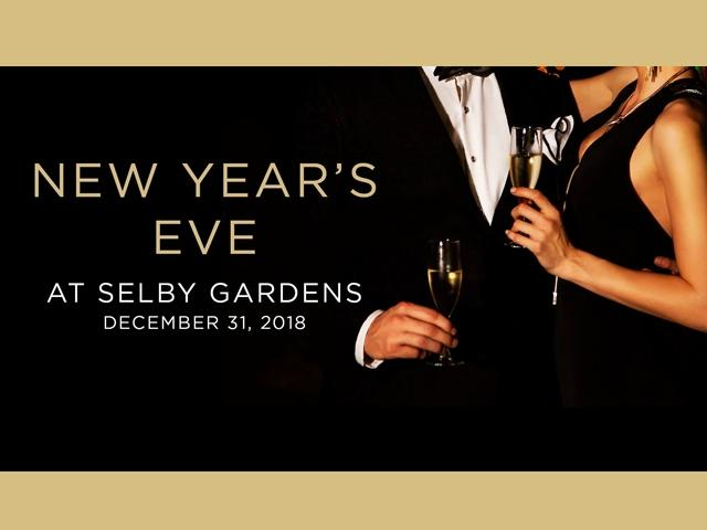 New Year's Eve at Selby Gardens - 2018