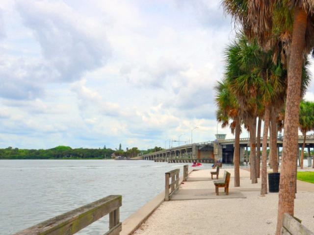Nora Patterson Bay Island Park - Beautiful views of Downtown Sarasota. Located under the North Bridge on Siesta Key. Park benches, picnic tables, fishing, and walking paths.