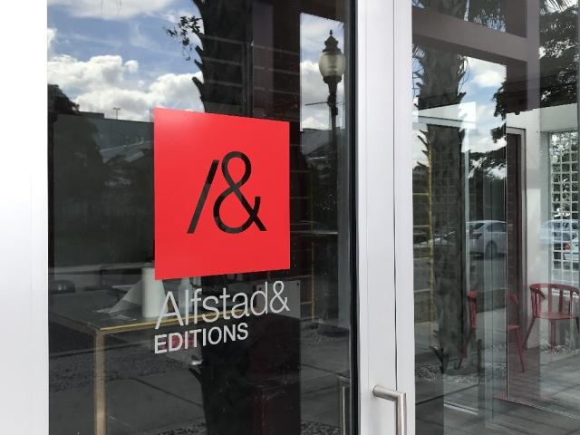 OPEN HOUSE AT ALFSTAD& EDITIONS PRINT MAKING STUDIO: Jan 4, 5–8pm