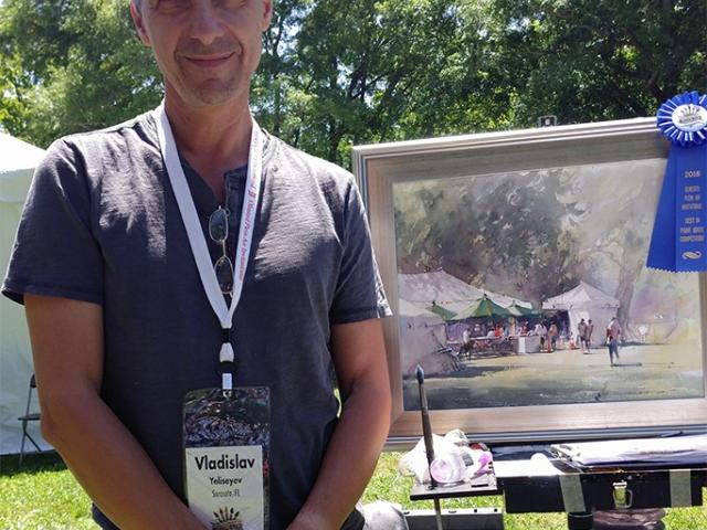Paint Outdoors with Master Artist Vladislav Yeliseyev