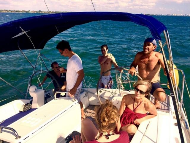 Group Sailing Retreats - Relax with your friends and a beverage on our group sailing retreats!