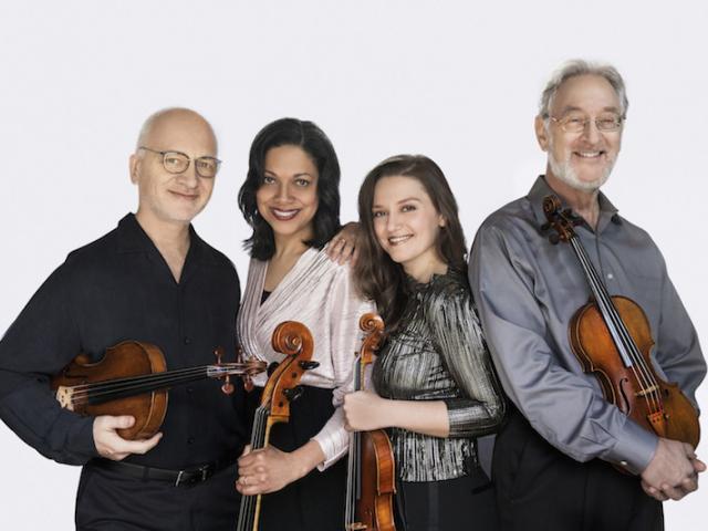 Julliard String Quartet - Perlman Suncoast presents the Julliard String Quartet at the Sarasota Opera House on December 2, 2019.