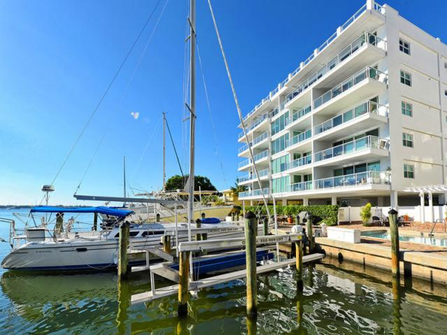 Boutique Downtown Condo - This boutique Downtown Sarasota condo on Golden Gate Point comes with a boat slip.
