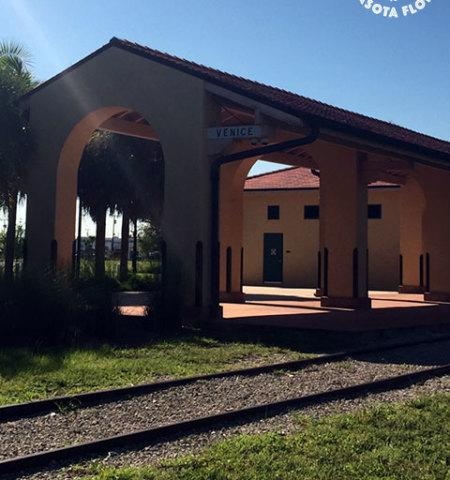 Old Venice train station