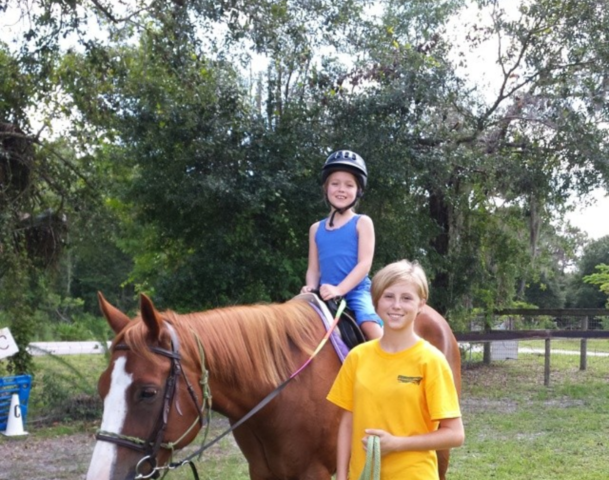 We love kids! - Our horses love kids and kids love our horses!