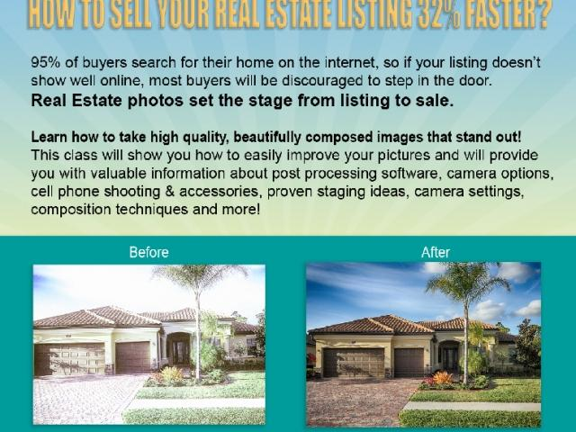 Real Estate Photography made Easy