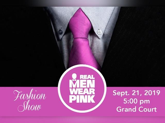 Real Men Wear Pink Fashion Show