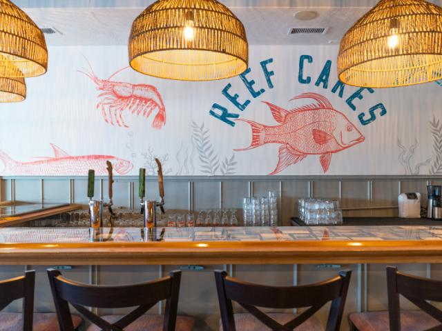 Reef Cakes Interior - Interior of Reef Cakes