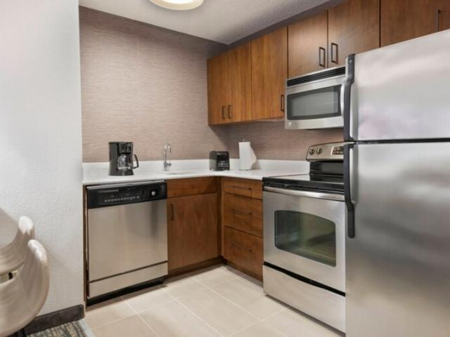 Suite Kitchen - Every suite offers a fully equipped kitchen where you can prep meals, cook and enjoy in the comfort of your room.