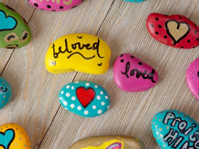 Rock Painting & Small Business Saturday
