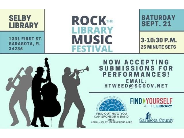 Rock the Library Music Festival